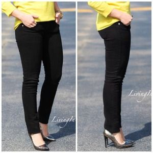 Denim - Black Skinny Jeans