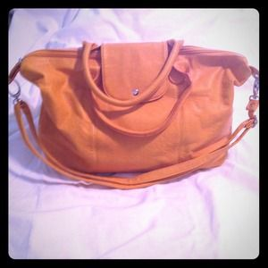 Mustard yellow boutique handbag