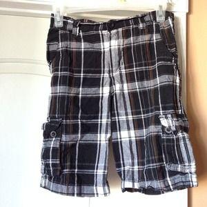 Pants - Boy brand Airwalk plaid skater shorts size 10