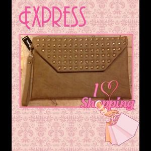 Express Studded Clutch