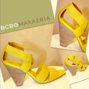 Bcbgmaxazria Bcbg Maxazria Ribbon Bow Heels Sz 9 From