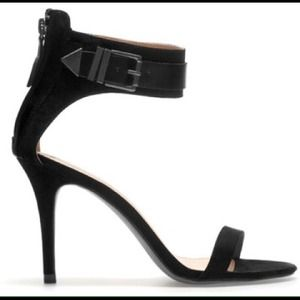 BNWT Zara Black Sandals With Buckles Size 41/10