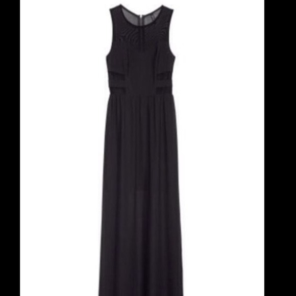 H&M Dresses & Skirts - H&M Black and Sheer Maxi 2