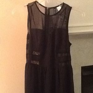 H&M Dresses - H&M Black and Sheer Maxi 3