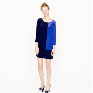 Jcrew Jules Dress in colorblock