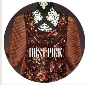 Tops - 🎉HOST PICK🎉🚫SOLD🚫Boho Chiffon Top