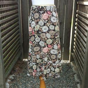 ☆HP☆ Petite Floral Print Skirt
