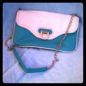Teal Apt 9 handbag and clutch!