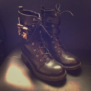 Cathy Jean Combat Boots