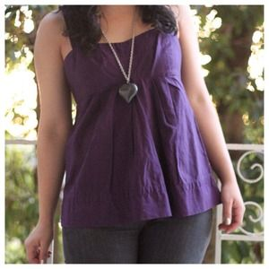 Marc by Marc Jacobs Purple Tank Top