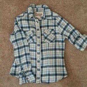 Tops - Ladies snap up shirt