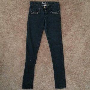 Denim - Dark blue skinny jeans