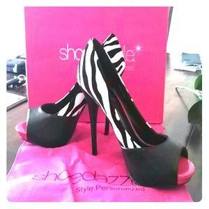 Awesome Zebra print heels