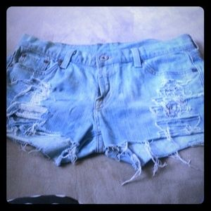 Lucky Brand Cutoff Denim Shorts