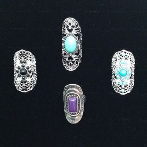 Jewelry - 🎄New Beautiful Set of Rings.