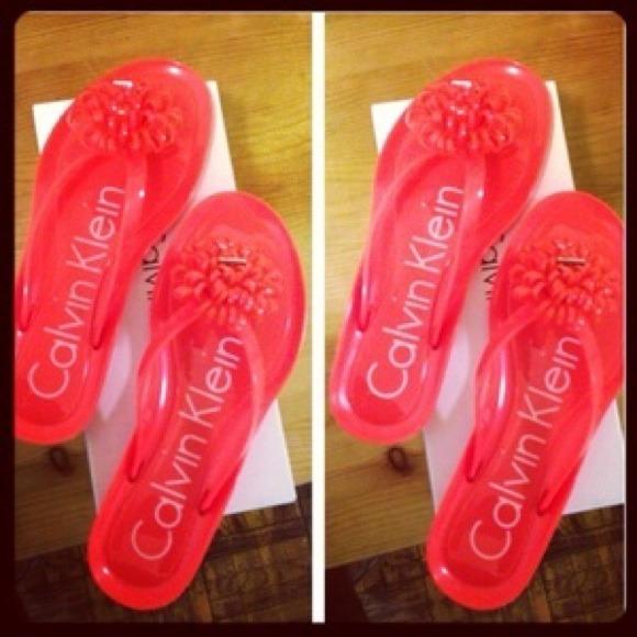 bb8e903cede6 Calvin Klein Jelly Sandals