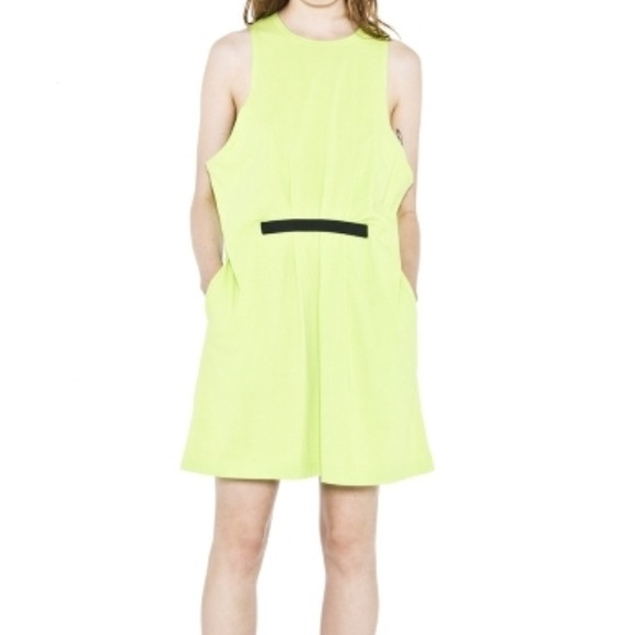 20dd242cb804 Cheap Monday Dresses | Lime Green Dress Brand New | Poshmark