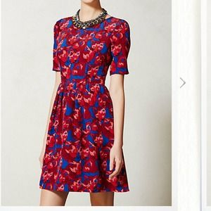 Anthropologie Chessire Dress