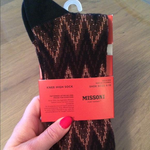57707e7fb87 Missoni for Target Knee High Socks