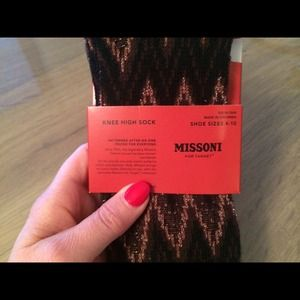 7c0a64bf282 Missoni for Target Accessories - Missoni for Target Knee High Socks