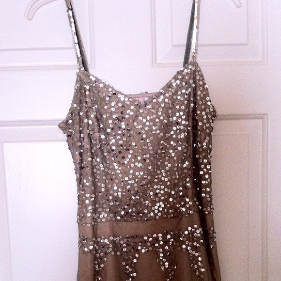 Lux Dresses & Skirts - Knee-length sequin dress from urban outfitters