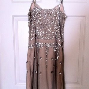 Lux Dresses - Knee-length sequin dress from urban outfitters