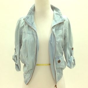 Cute chambray jacket