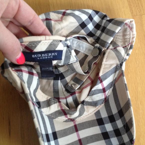 burberry plaid baseball hat black cotton nova check trim cap price accessories reserved