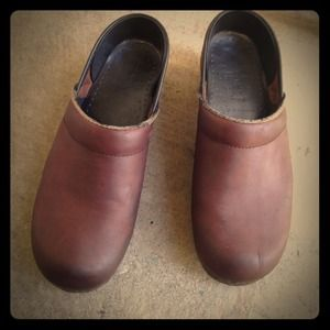 DANSKO Clogs Brown size 38 = 7 7.5