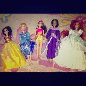 Disney Princess Barbie Collection