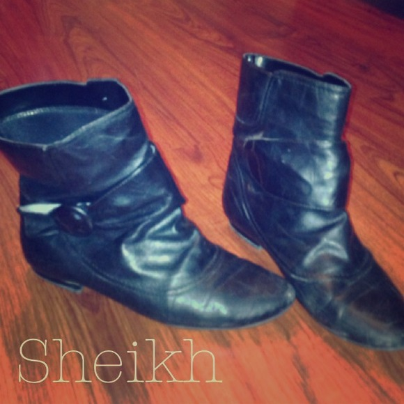 Boots - Sheik black booties