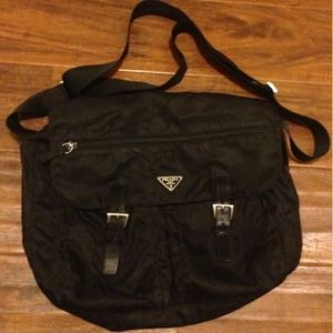 Prada Nylon Messenger bag