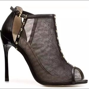 Zara Shoes - Zara Studded Mesh Bootie