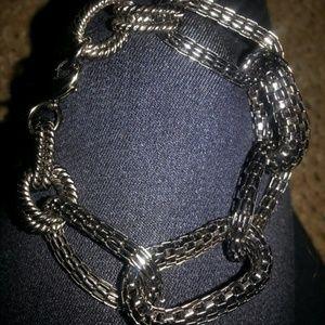 All black bracelet