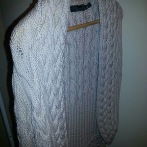 Stand out cable sweater