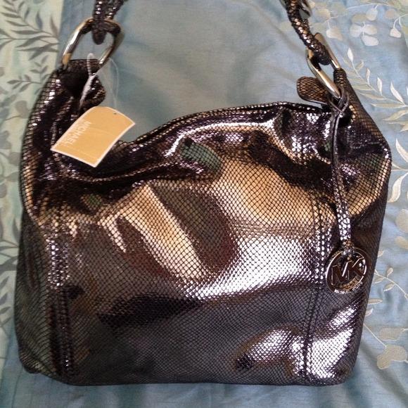 23c987da6f52f6 Michael Kors Bags | Authentic Gun Metal Purse | Poshmark