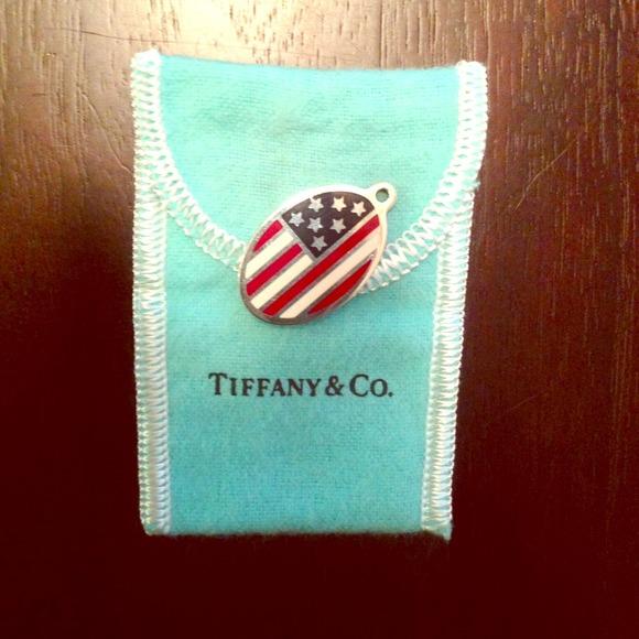 1f64004194e6e Tiffany & co american flag charm
