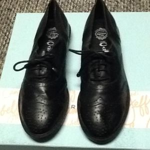 Jeffrey Campbell Shoes - Jeffery Campbell size oxfords never worn