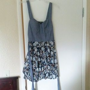 great floral print dress for spring/summer