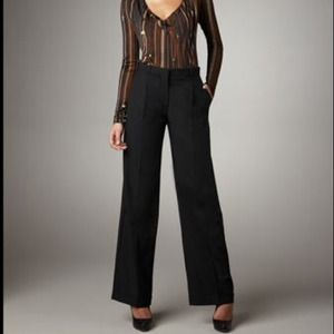 Jean Paul Gaultier Pants - Jean Paul Gaultier Wide-leg Cuffed Pants 38/4 NWT