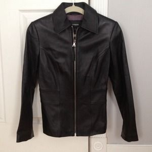 Express Jackets & Blazers - EXPRESS 100% genuine leather jacket