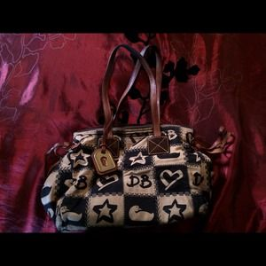 Limited edition semi new Dooney and Bourke