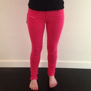 80% off Joe&39s Jeans Denim - Joe&39s Hot Pink jeans high rise skinny