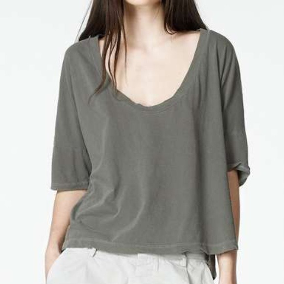 9ee45a5d322 James perse Tops | Boxy Tee | Poshmark