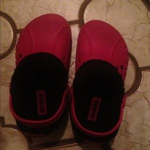 Other - Girls (toddler) size 10/11 authentic fleece Crocs