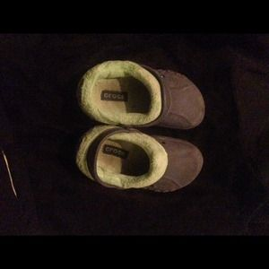 Other - Toddler boys  10/11 Authentic Fleece lined Crocs!