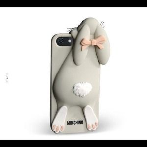 Host pick Moschino bunny rabbit iPhone 5 5s case