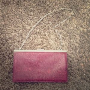 J. Crew Leather Clutch
