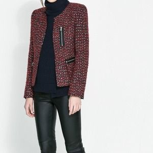 Zara Jackets & Coats - Zara tweed jacket 2