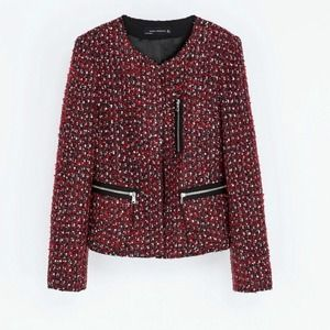 Zara Jackets & Coats - Zara tweed jacket 3